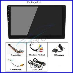 10.1 2Din Android 9.1 Quad-core 2+32G Car Stereo GPS Wifi BT DAB 3G 4G DVR DAB