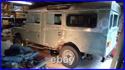 1958 Land Rover Series 1, 107 Station Wagon
