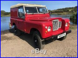 1959 Land Rover Series 2 rebuilt on galvanised chassis, 2.5 petrol + overdrive