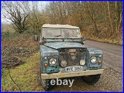 1969 Land Rover Series 2a SWB 2.25 petrol