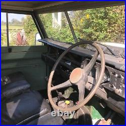 1972 Series 2a Land Rover