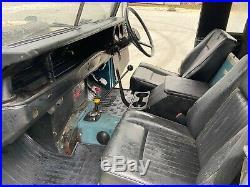 1975 land rover series 3 station wagon 88 SWB