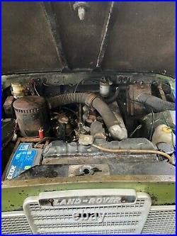 1978 landrover series 3 2.25 diesel