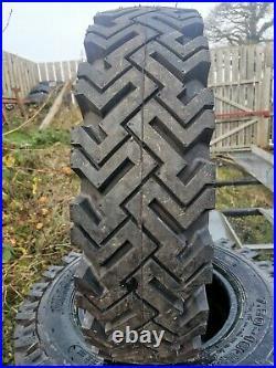 2 x Landrover Series Tyres 750 x 16