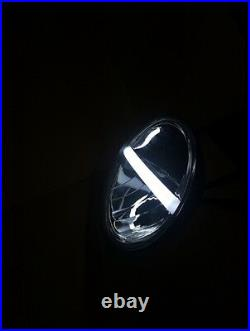 7 Inch LED Headlight DRL Headlamp x2 E Approved Land Rover Defender 90 110 720