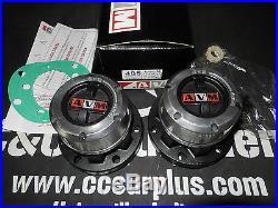 AVM 405 Locking hubs outs LAND ROVER SERIES 1, 11, 111, 88 W. B. FREE WHEELING
