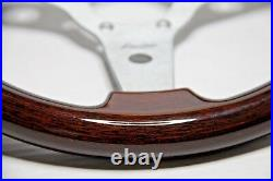 CLASSIC VINTAGE WOOD STEERING WHEEL 310mm 12.3 LUISI MAHOGANY SPORT BRAND NEW