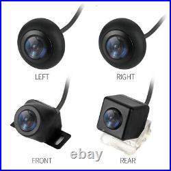 Car 360° HD Bird View Panoramic System DVR Recording Parking Rearview Camera Kit