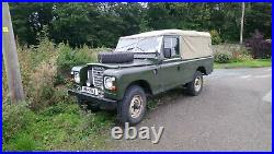 Ex-Army Land Rover Series III 109