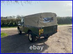 Ex military Land Rover series 3 109 2.25 petrol
