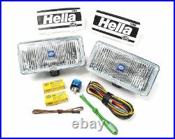 Fog Light Kit, Hella 74506 Clear 550 Series, fits all Land Rovers