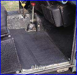 Front Cargo Rubber Floor Mat Set GMS050 for Land Rover Series 2, 2A, and 3