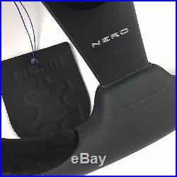 Genuine Momo Nero 350mm leather steering wheel and 36 spline hub. For Land Rover