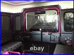 Heated Rear Door Glass (high Brake Light) Conv Kit For Land Rover Defender Seri