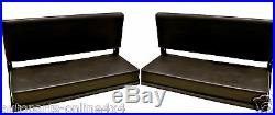 LAND ROVER SERIES 88 SWB 2 SEAT FOLDING REAR BENCH (2) WITH FITTINGS -320737 x2
