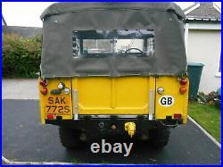 LAND ROVER Series 3 88 1977 Soft Top PETROL(Overland tour prep) Free Tax No MOT