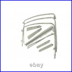 Land Rover 88 series 2/2A/3 Full length Soft Top Bow Set