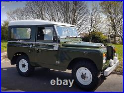 Land Rover Defender Series 2a 1971 Fully Restored Green 4x4 Classic Car