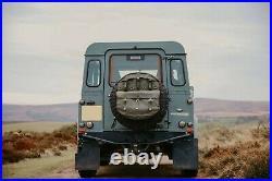 Land Rover Defender Series Canvas Spare Wheel Storage Bag Khaki Exmoor