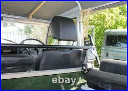 Land Rover Defender or Series Soft Top Front Seat Belt Bar Exmoor