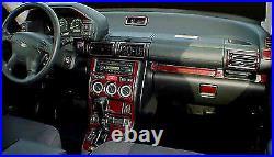 Land Rover Discovery 2 Series II New Interior Set Wood Dash Trim Kit 1999 2004
