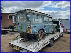 Land Rover Safari Series 2a 1963 Petrol Classic Car Project
