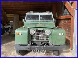 Land Rover Serie 2 109 Bj. 1960 Oldtimer