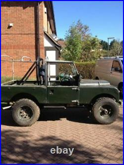 Land Rover Series 1 1957 88 Galvanised Chassis Rolling Project