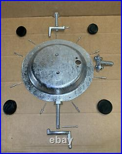 Land Rover Series 1/2/2a/3 Bonnet Spare wheel mounting carrier kit 333458 332972