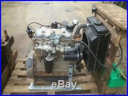 Land Rover Series 1, 2 litre engine has been rebuilt, running on floor