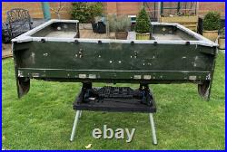 Land Rover Series 1 86/88 Inch Rear Tub Complete With Cappings And Side Seats
