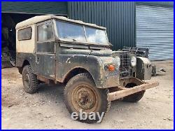 Land Rover Series 1 86 hard top