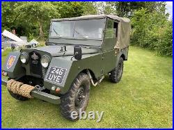 Land Rover Series 1 Minerva 80
