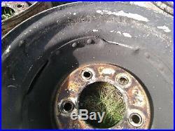 Land Rover Series 1-Ton Forward Control One Set of 4 Deep Dish Steel Wheels