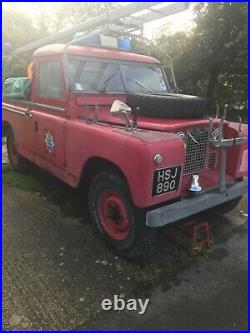 Land Rover Series 2 109 Fire Engine