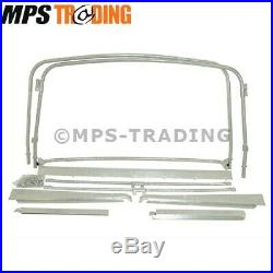 Land Rover Series 2 2a 3 Swb Galvanised Hood Hoop Stick Set Kit 88 330999