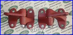 Land Rover Series 2 2a Hinges Upper RH & LH With Mirror Mount Hole 346376 346377