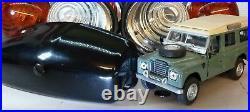 Land Rover Series 2 2a Lucas L594 Glass Lens External & Number Plate Lights Set