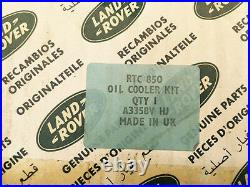 Land Rover Series 2&3 Oil Cooler Complete Kit Part no RTC 850