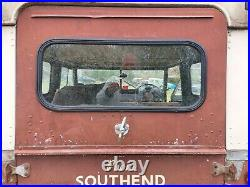 Land Rover Series 2 3 Rear Upper Tailgate Cat Flap with self latching openers