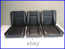 Land Rover Series 2 3 S111 Set of Deluxe Seats 6 Pieces