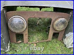 Land Rover Series 2 Front End Wings Bonnet Panel