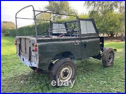 Land Rover Series 2 SWB 88 project Barn Find