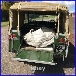 Land Rover Series 2 (not 2a) Lovely with all original features