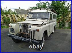 Land Rover Series 2A 109 Carawagon Camper Conversion