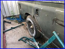 Land Rover Series 2a 109 V8 restoration project