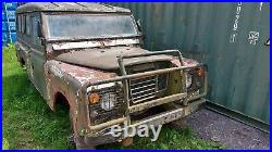 Land Rover Series 2a LWB Petrol Project