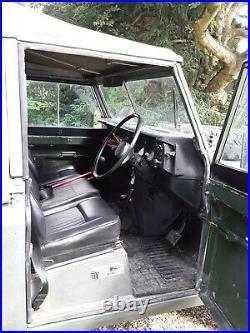 Land Rover Series 3 109 Military Petrol Truck 1983 Low miles Very Original