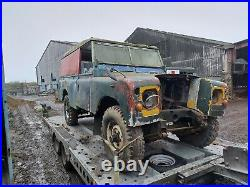 Land Rover Series 3 1975 LWB Diesel PROJECT