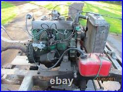 Land Rover Series 3 2250cc petrol engine, 3 bearing, 81 comp, starts & runs